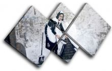 Maid Grafitii Banksy Street - 13-0944(00B)-MP19-LO